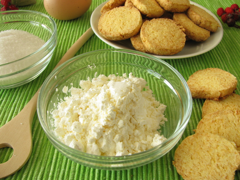 Gluten-free cookies from corn flour